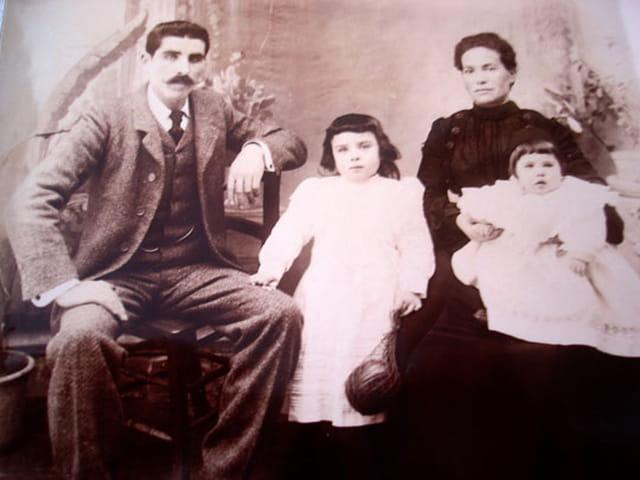 Famille alcaraz en 1888