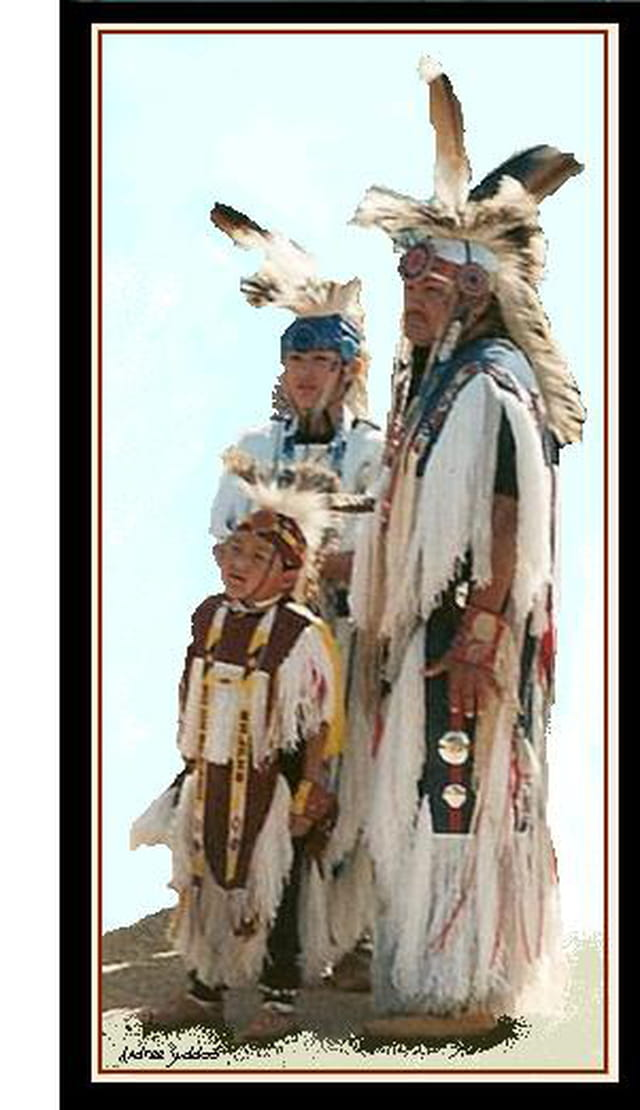 """Famille D'indiens""."