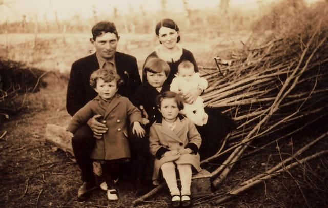 Famille vendéenne, hiver 1939