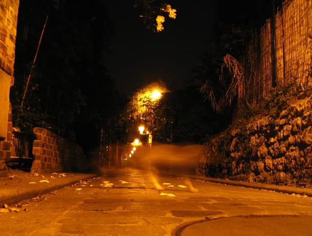 Fantôme passage bourgoin