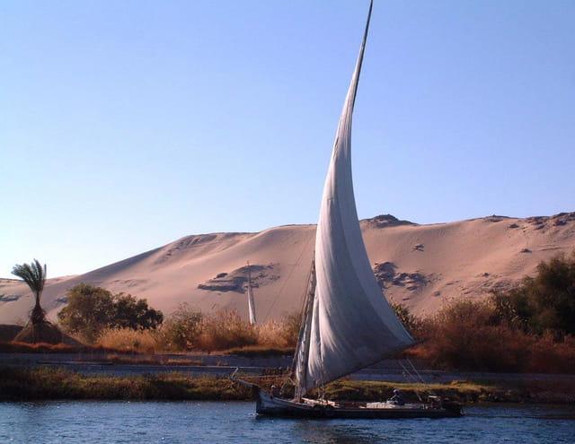 Félouque sur le Nil