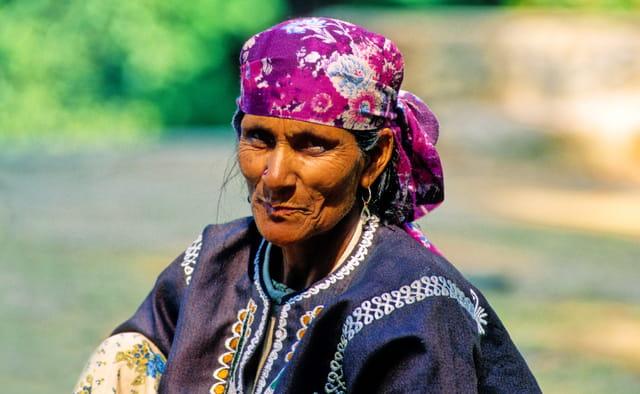 Femme Cachemirie