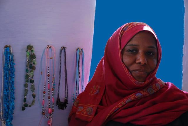 Femme Nubienne...