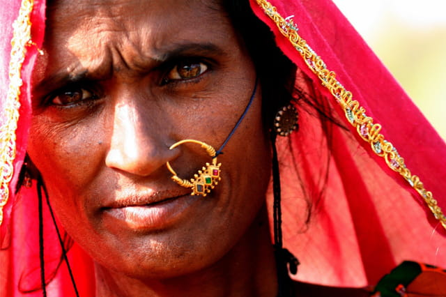 Femme rajasthani