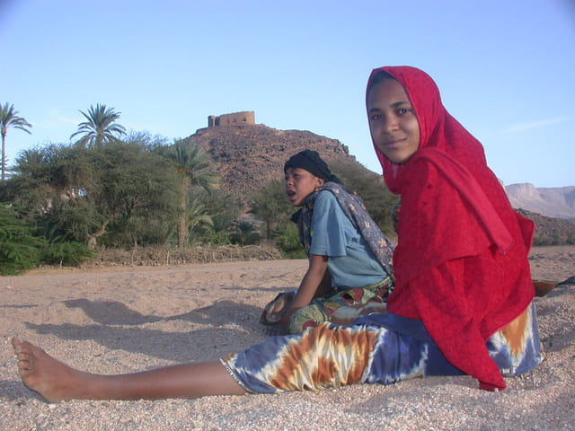 Femme touareg