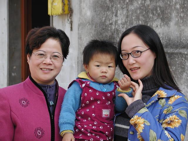 Femmes chinoises de suzhou