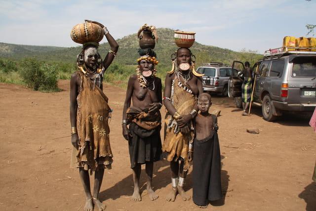 Femmes d'ETHIOPIE