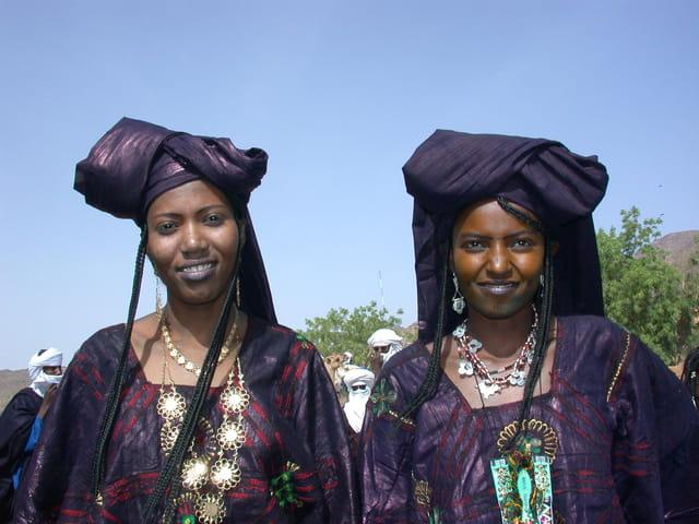 Femmes touareg de Timia