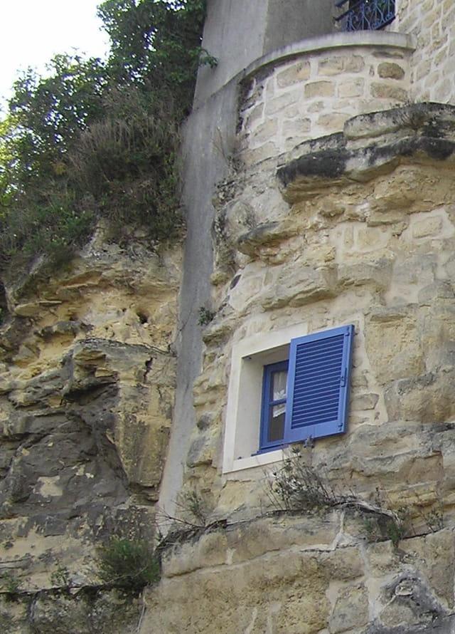 Fenêtre troglodyte