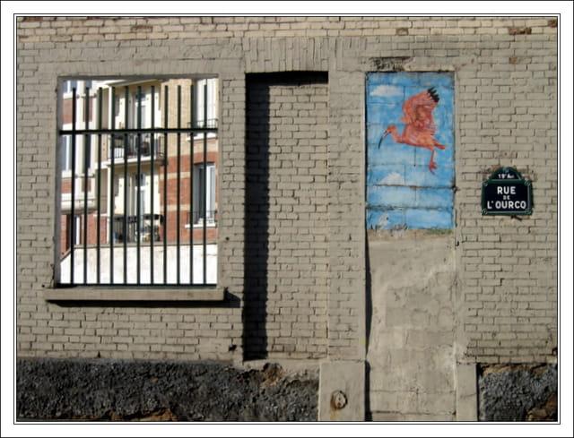 Fenêtres dans la ville