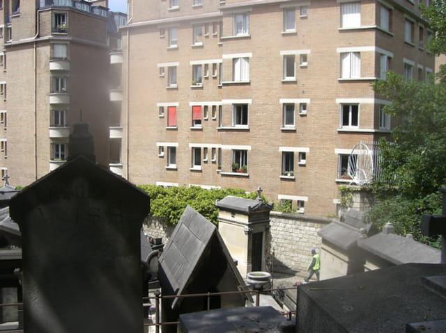 Fenêtres sur cimetière