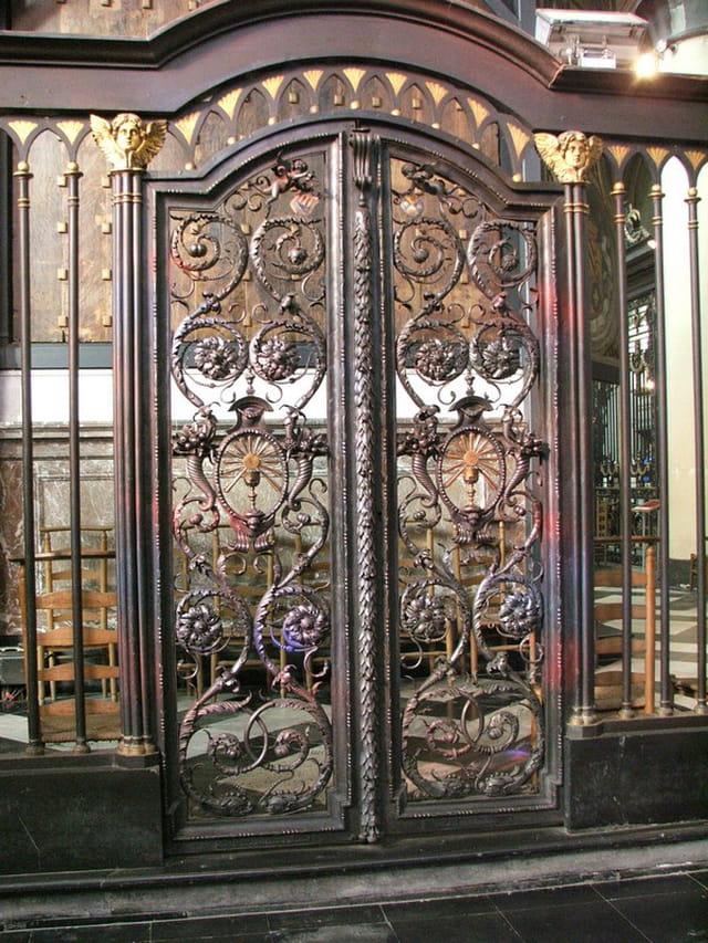 Fer forgé de l'église Notre-Dame
