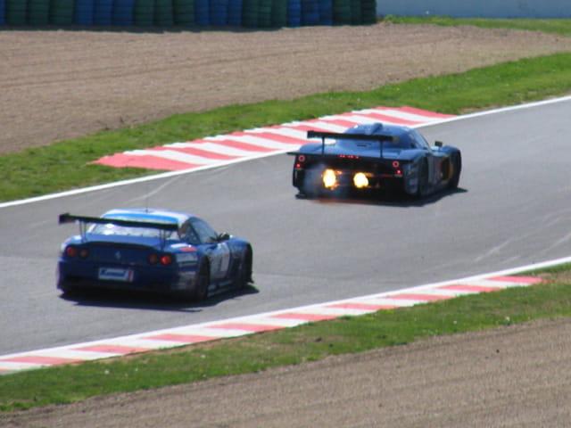 Ferrari - mazerrati magny-cours