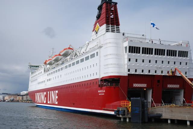 ferry de la mer Baltique