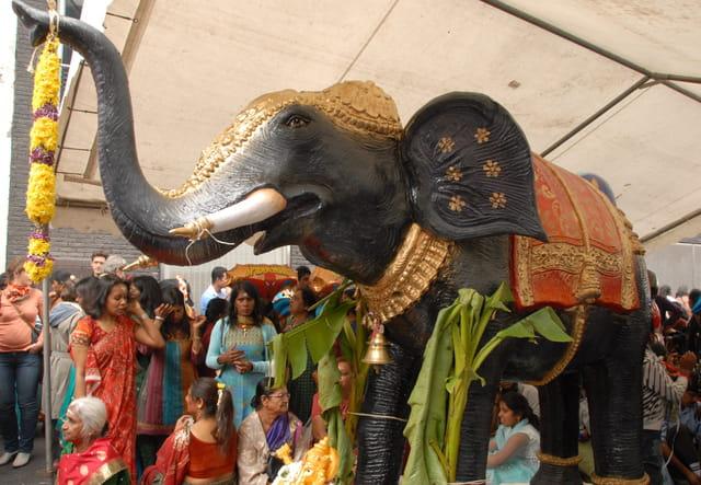 Fête de Ganesh, Paris 2011