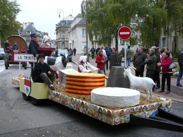 Fête de la pomme, du cidre et du fromage en Normandie