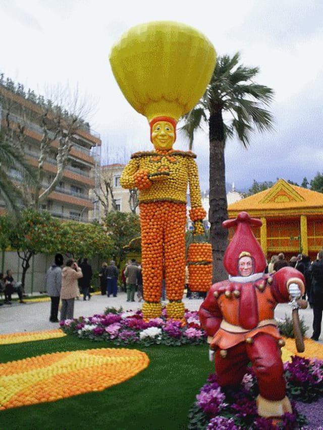 Fête du citron: carnaval du monde