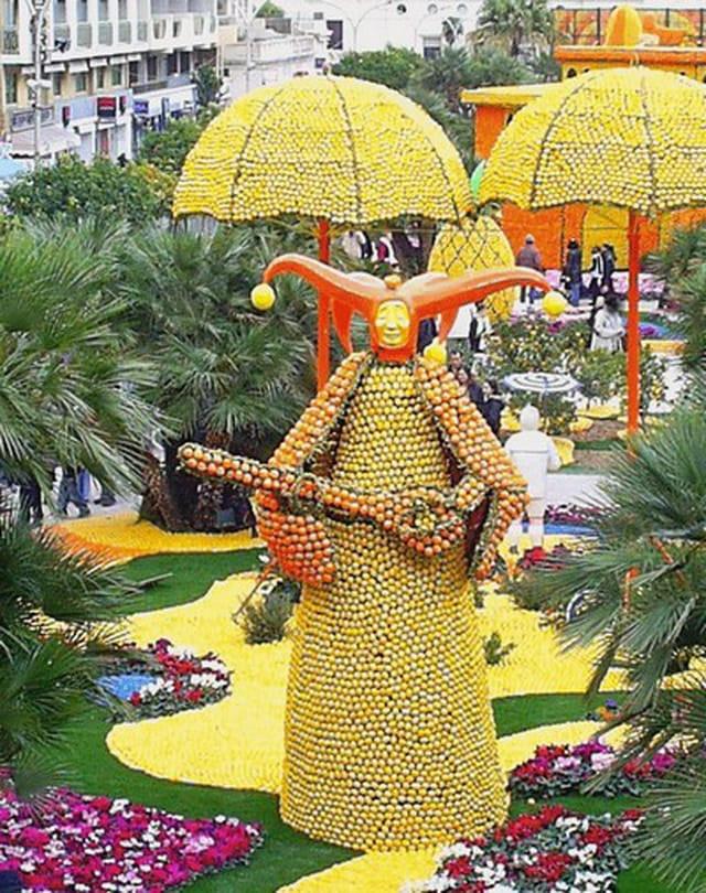 Fête du citron: carnavals du monde