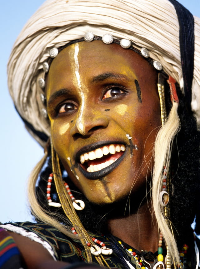 Fête du Gerewol, sourire immaculé.