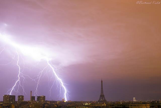 Feu du ciel, Paris electrique