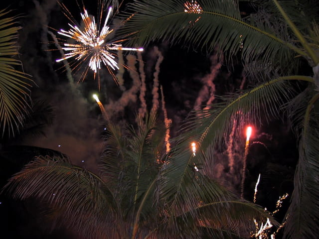Feux d'artifices Bahamas