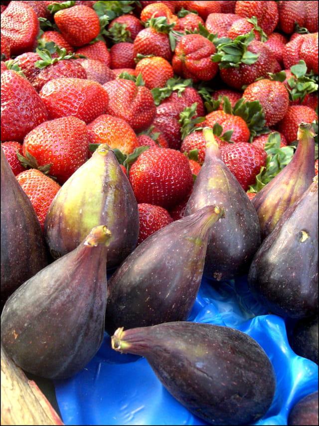 Figues & fraises