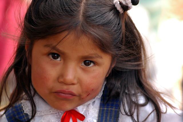 Fillette péruvienne