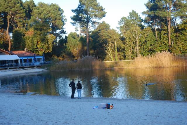 fin d'après midi au bord du lac