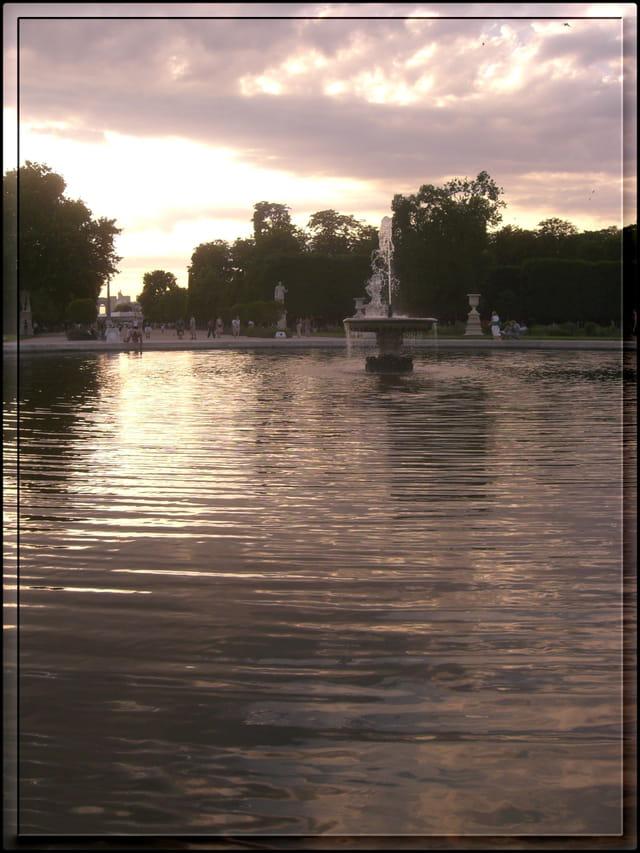 Fin d'après-midi aux Tuileries