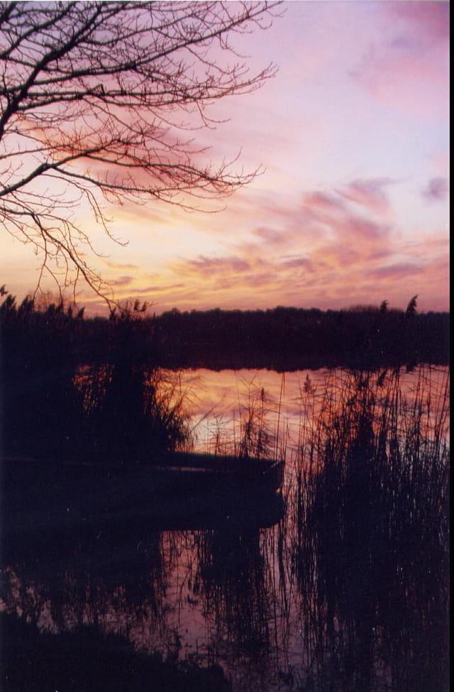 Fin d'après-midi sur le lac