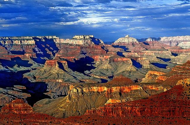 Fin de journée au Grand Canyon
