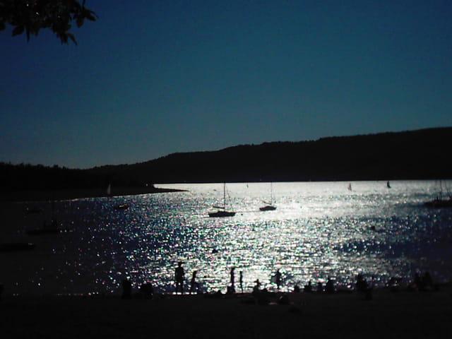 Fin de journée sur le lac