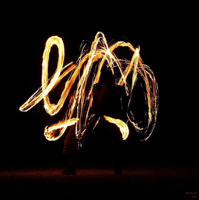 Fire  calligraphic spirit