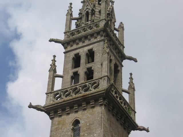 Flèche de la cathédrale Saint Corentin de Quimper