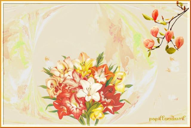 Fleurs à ma façon