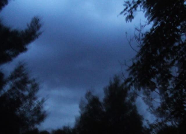 Flou avant l'orage