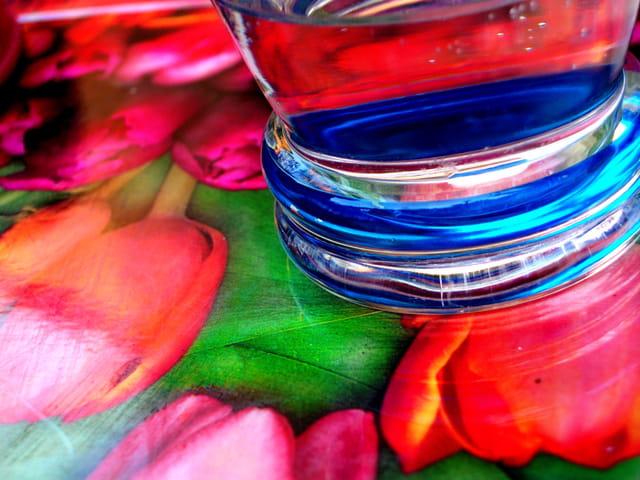 Fond de verre