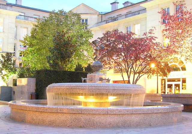Fontaine à Poissy