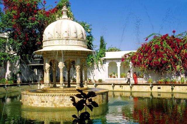 Fontaine à udaipur