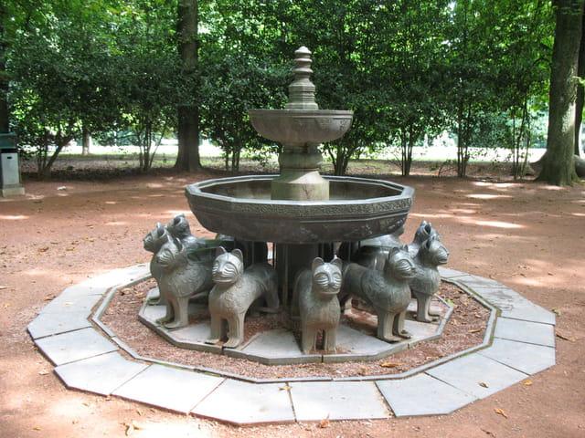 Fontaine asiatique