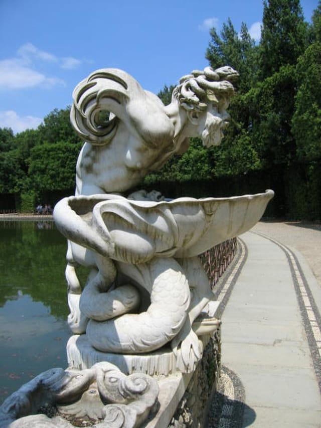 Fontaine au palazzo pitti
