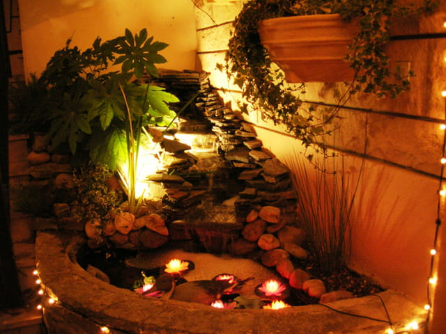 Fontaine cachée