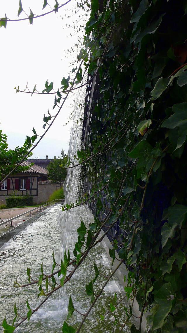 Fontaine cascade !