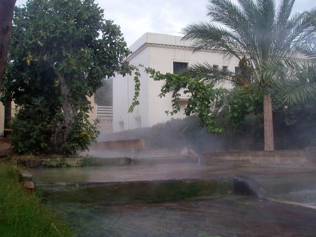 Fontaine chaudes