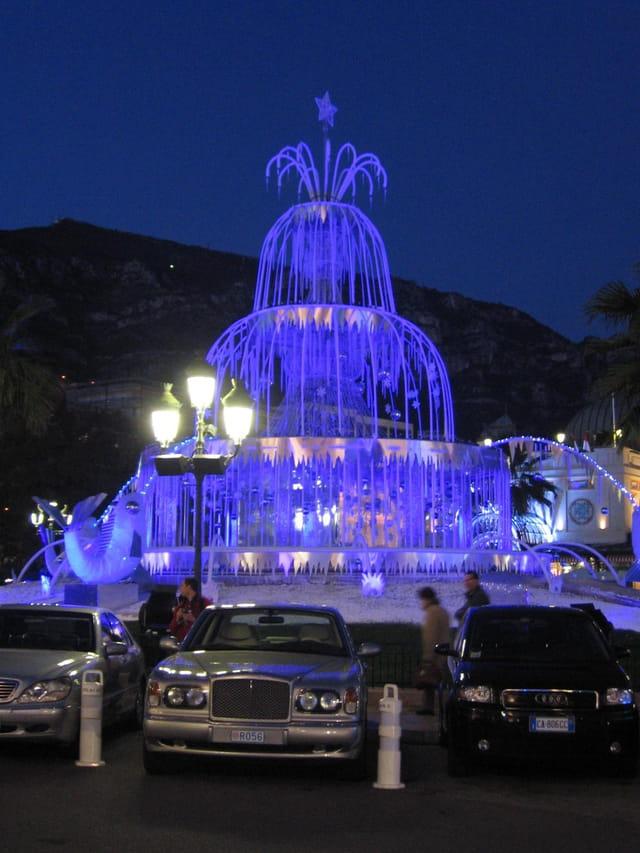 Fontaine de glace