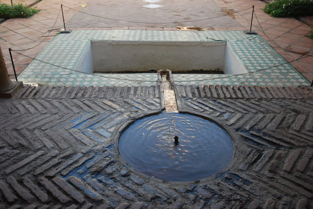 fontaine de La Alcazaba