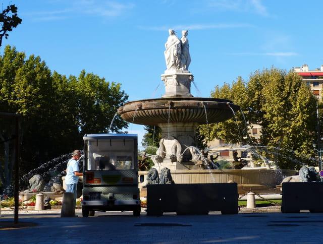 Fontaine de la Rotonde ...
