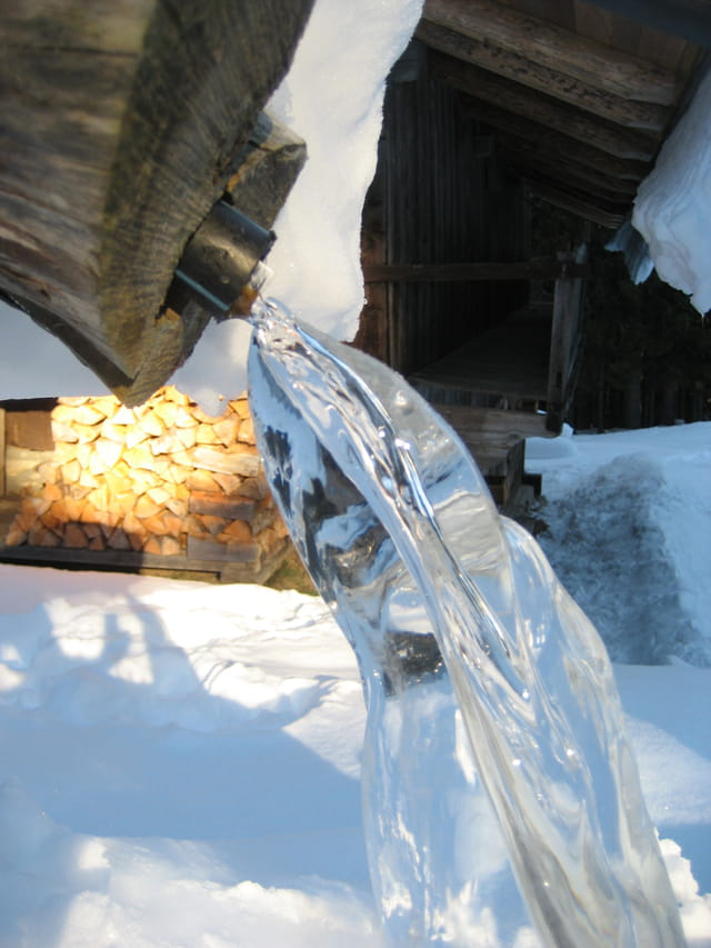 Fontaine glacée