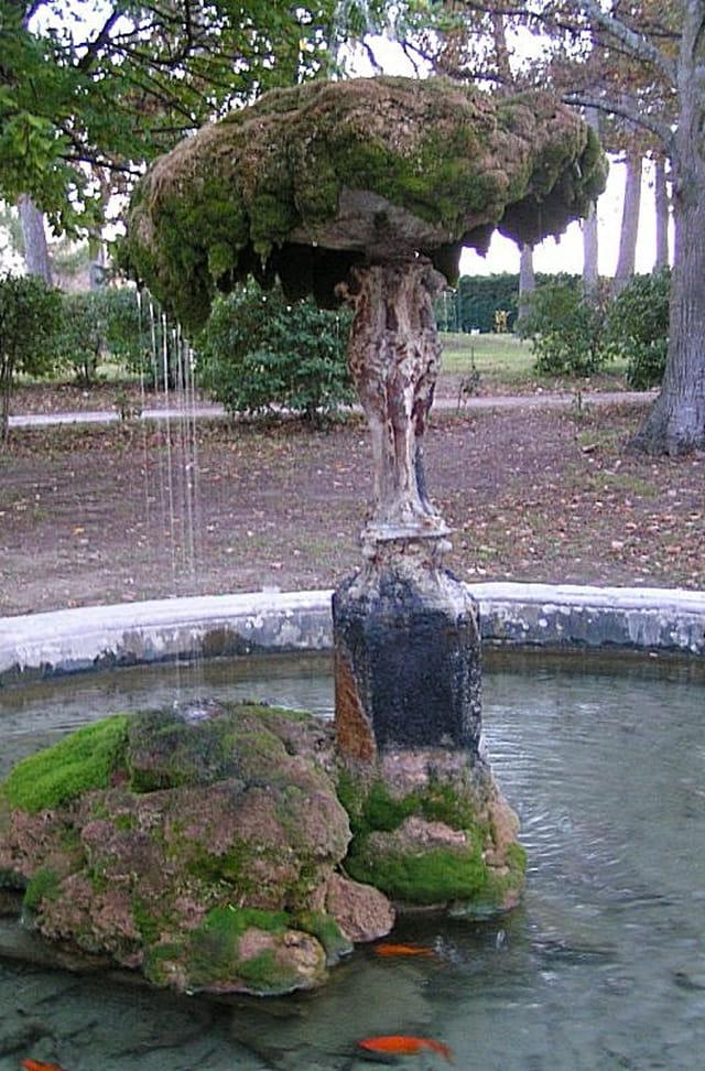 Fontaine parapluie