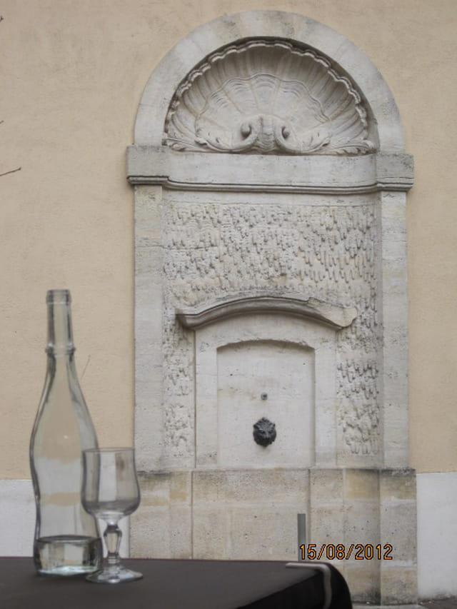 Fontaine royale, à Saint-Germain-en-Laye